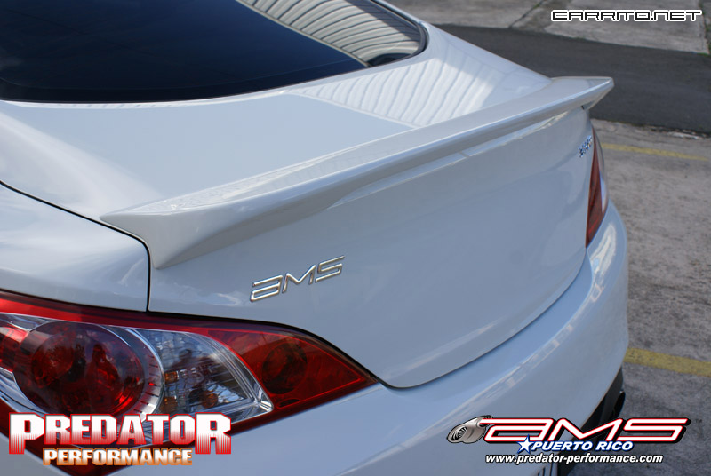Sequence Lip Spoiler on Predator Performance Genesis ...
